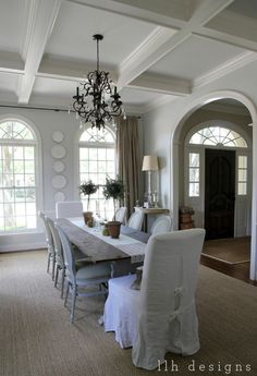 love this dining room - LLH Designs