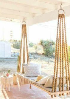 85 Relaxing Farmhouse Porch Swing Ideas - Home Decor Ideas