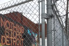nothing stops detroit street art:  detroit #LoveArt - http://wp.me/p6qjkV-aqW  #Art