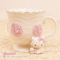 Charmmy Kitty Figurine Coffee Cup
