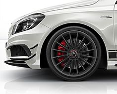 The A 45 AMG sees Mercedes-AMG embarking on a new era. For the first time in the company's history extending back over more than 45 years, AMG is offering a fascinating high-performance vehicle in the compact class. #A45AMG http://www.mercedes-amg.com/webspecial/a45