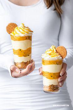 Fruit Recipes, Sweet Recipes, Dessert Recipes, Fruit Dessert, Flan, Tiramisu, Panna Cotta, Lemon Cream Cheese Frosting, Cream Frosting