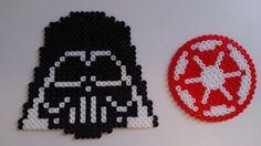 Star Wars coasters hama perler beads by Sonja Ahacarne