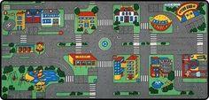Speelkleed Stadplan