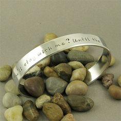 Harry Potter Quote Bracelet