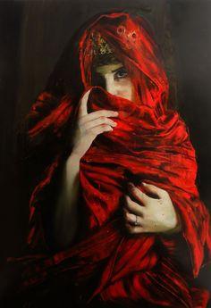Lady Macbeth by Roberta Coni Osas. Oil and Acrylic on Canvas #RobertaConiOsas
