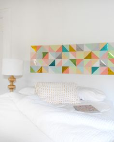 Create a Gorgeous Geometric Paper Patchwork for Your Wall | Crafttuts+