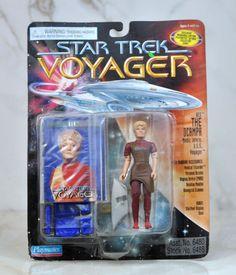 Star Trek Voyager KES The OCAMPA Medic Intern USS Voyager Action Figure Playmates 6480 6488 1995