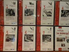 HISTORIA AUDIOVISUAL DE LA TRANSICIÓN ESPAÑOLA. COLECCIÓN COMPLETA. 8 DVD PRECINTADOS.