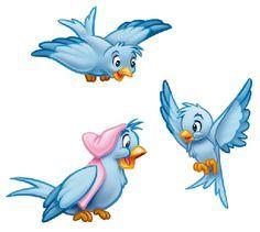 Disney Cartoon Blue Bird Cinderella - Google Search