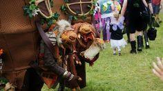 Oak wood folk at 3 wishes Faery festival 2016