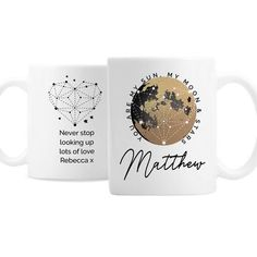 Personalised Ceramic Mug - You Are My Sun My Moon Stars And Moon, Sun Moon, Valentine Day Gifts, Valentines, Personalized Valentine's Day Gifts, All Block, Special Symbols, Little Gifts, Constellations