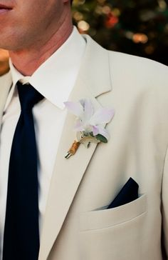 corsages , elegant, mauve, orchid, white, black, cream, men's suit, shabby chic, Spring, vintage , California