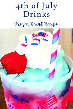 Celebrate the Fourth of July with this easy and delicious drink recipe from Everyday Party Magazine #4thofJuly #FourthofJulyDrinks #Recipe