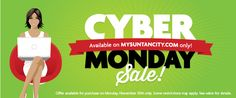 Make sure you activate your account at MySunTanCity.com to take advantage of 2015 Cyber Monday deals at Sun Tan City! #cybermonday #cyberdeals