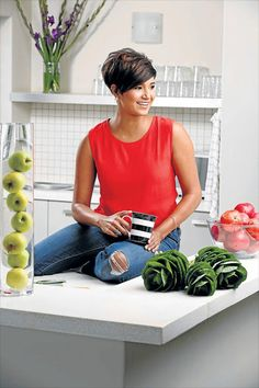 MasterChef SA's Kamini Pather dishes on her decor style Hair Tutorials For Medium Hair, Medium Hair Styles, Short Hair Styles, Pixie Hairstyles, Pixie Haircut, Pretty Hairstyles, Layered Hairstyles, Corte Y Color, Great Hair