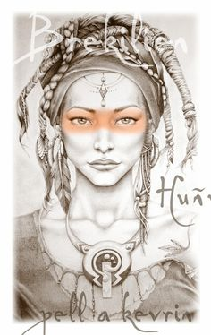 Affiche ::: Brokilien Hunvreoù pell a kevrin : Affiches, illustrations, posters par maiberoja