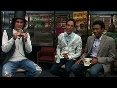 "Troy and Abed interview Star-Burns. ""Troy and Abed in the morning!"""
