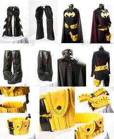Stephanie Brown Batgirl Costume by gstqfashions.deviantart.com on @deviantART