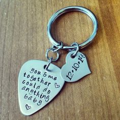 Hey, I found this really awesome Etsy listing at https://www.etsy.com/listing/202213000/hand-stamped-keychain-personalized