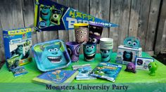 How to Plan a Monsters University Party via @Caryn Bailey