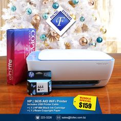 🕓 Early Bird Christmas Savings! 🐤 Print, copy, scan, wirelessly from your smartphone, tablet or pc.  #FultecSystems #EarlyBirdGetsTheWorm #ChristmasInNovember #HP #PrinterBundle #BundleandSave