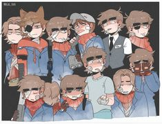 Every soldier hmmm I'm the black leader and its hell Eddsworld Comics, Cute Comics, Tord Larsson, Eddsworld Tord, Tomtord Comic, Eddsworld Memes, Black Leaders, Banana Bus Squad, Adventure Time Art