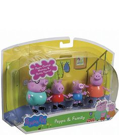 "x Fisher-Price Peppa Pig 4-Pack Family Figures - Fisher-Price - Toys ""R"" Us"