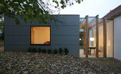 Außenansicht Neubau - Sanierung und Neubau Wohnhaus Beer-Fuchs