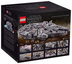 Lego is releasing a brand new Millennium Falcon set that's bound to impress any Star Wars fan. Coming in at pieces… Lego Millenium Falcon, Millennium Falcon Model, Star Destroyer, Chewbacca, Star Wars Stormtrooper, Modele Lego, Star Wars Origami, Nave Star Wars, Millennium Falcon