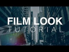 Film Look Tutorial - Final Cut Pro X - YouTube