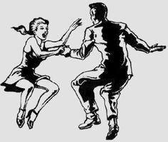 Ade E D C B B A Fb F on Jitterbug Line Dance