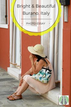 Burano is a gorgeous island near Venice in Italy. It is famous for it's lace making and brightly coloured houses. It is a must-do side trip from Venice. This post includes my 8 favourite pics from Burano. #Burano #Italy #Venice