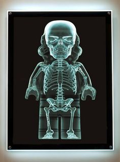 X-Ray Trooper  - by Dale May    Print available at Samuel Owen Gallery, 48x24 for $2,600 or 72x36 for $5,800 USD. A piece for May's current show at Samuel Owen Gallery showing through the 19th of January