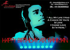 HAPPY BIRTHDAY MUSIC LEGEND .. WE BOW U WITH ALL DUE RESPECT !!!
