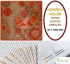 Cross Stitch/Tapestry Needles - 25 x Size #22