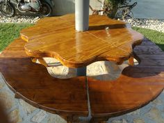 hand made by Gabrijel HD Dining Table, Handmade, Furniture, Home Decor, Hand Made, Decoration Home, Room Decor, Dinner Table, Home Furnishings