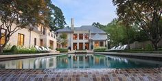 Grand Gated Georgia Estate in Atlanta. Pool Designs, Swimming Pools, Gate, Around The Worlds, Industrial, Mansions, Landscape, House Styles, Infinity