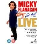 Micky Flanagan DVD cover.