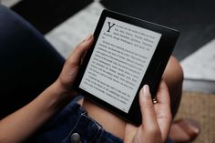 WIN A KINDLE OASIS WITH A THREE YEAR WARRANTY!