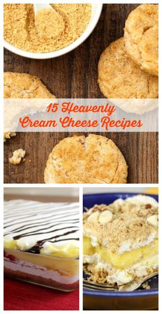 When in doubt, make these dessert recipes with cream cheese! They're perfectly fluffy and creamy.