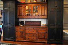 Terra Firma Custom Homes Rustic Kitchen Make Mine