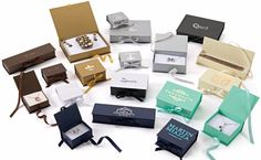 Luxe Ribbon Jewelry Boxes