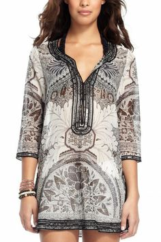 The use of Batik here is in a dress. And  pattern in dress is symmetry. It looks thin.