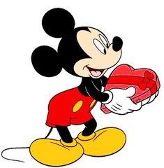Bolo Mickey E Minnie, Mickey Love, Baby Mickey, Disney Mickey, Disney Pixar, Arte Disney, Disney Art, Disney Valentines, Walter Elias Disney