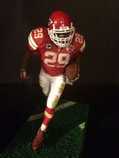"Eric Berry Kansas City Chiefs Jersey Custom Mcfarlane Football Figure 6"" #McFarlaneToys"