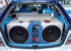 Lanzar 3-way Car Speakers #SouthwestEngines