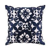Found it at Wayfair - Cassandra Linen Embroidered Pillow PURPLE