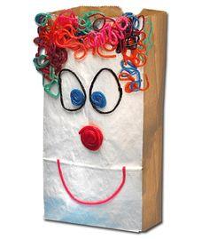 Create a Fun Lunch Bag Craft! http://www.wikkistix.com/crafts_projects.php #craftsforkids #kidscrafts