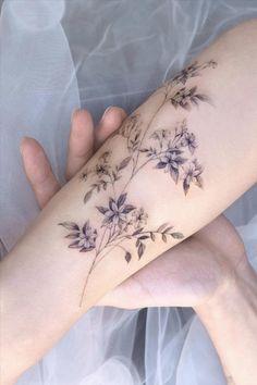 Mini Tattoos, Flower Tattoos, Body Art Tattoos, Small Tattoos, Pretty Tattoos, Beautiful Tattoos, Tattoo Designs For Women, Cute Tattoos For Women, Temporary Tattoo Designs